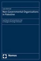 Non-Governmental Organisations in Palestine