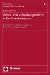 Politik- und Verwaltungsreform in Kontinentaleuropa