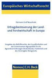 Ertragsbesteuerung der Land- und Forstwirtschaft in Europa