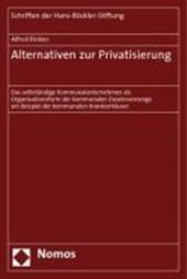 Alternativen zur Privatisierung