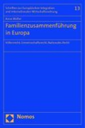 Familienzusammenführung in Europa