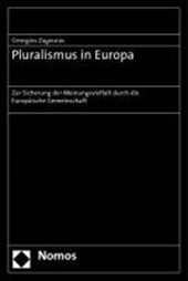 Pluralismus in Europa