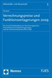 Verrechnungspreise und Funktionsverlagerungen 2009