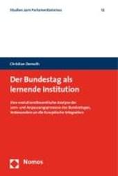 Der Bundestag als lernende Institution
