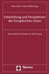 Entwicklung und Perspektiven der Europäischen Union