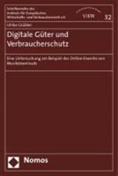 Digitale Güter und Verbraucherschutz