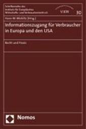Informationszugang für Verbraucher in Europa und den USA