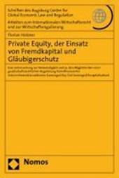 Private Equity, der Einsatz von Fremdkapital und Gläubigerschutz