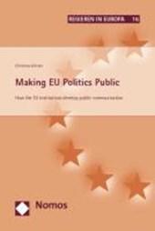 Making EU Politics Public