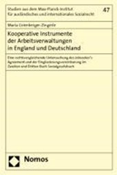 Kooperative Instrumente der Arbeitsverwaltungen in England und Deutschland