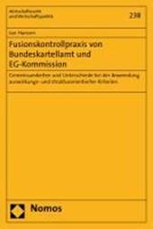 Fusionskontrollpraxis von Bundeskartellamt und EG-Kommission