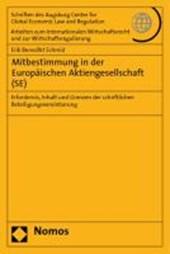 Mitbestimmung in der Europäischen Aktiengesellschaft (SE)