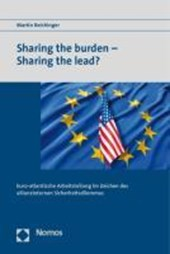 Sharing the burden - Sharing the lead?