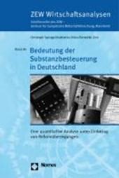 Bedeutung der Substanzbesteuerung in Deutschland