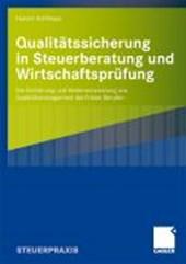 Qualitatssicherung in Steuerberatung Und Wirtschaftsprufung