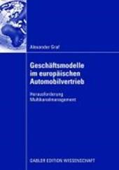 Geschaftsmodelle Im Europaischen Automobilvertrieb