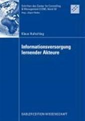 Informationsversorgung Lernender Akteure