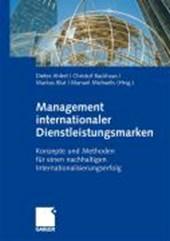 Management internationaler Dienstleistungsmarken