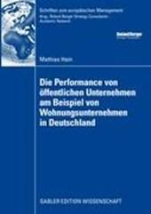 Die Performance Von OEffentlichen Unternehmen Am Beispiel Von Wohnungsunternehmen in Deutschland