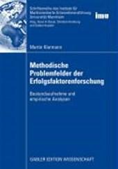 Methodische Problemfelder Der Erfolgsfaktorenforschung