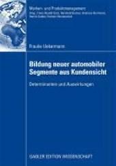 Bildung Neuer Automobiler Segmente Aus Kundensicht