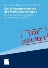 Die Erfolgsgeheimnisse des Marketingmanagers