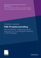 F&e-Projektcontrolling