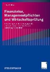 Finanzkrise, Managementpflichten und Wirtschaftsprufung