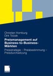 Preismanagement auf Business-to-Business-Markten