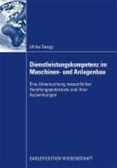 Dienstleistungskompetenz Im Maschinen- Und Anlagenbau