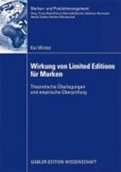 Wirkung Von Limited Editions Fur Marken