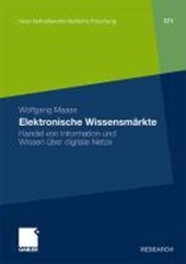 Elektronische Wissensmarkte