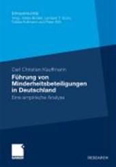 Fuhrung Von Minderheitsbeteiligungen in Deutschland