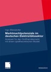 Marktmachtpotenziale Im Deutschen Elektrizitatssektor