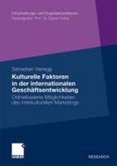 Kulturelle Faktoren in Der Internationalen Geschaftsentwicklung