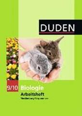 Duden Biologie 9/10 Arbeitsheft. Mecklenburg Vorpommern Realschule