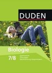 Biologie 7/8 Lehrbuch Mecklenburg-Vorpommern, Thüringen Gymnasium. Schülerbuch