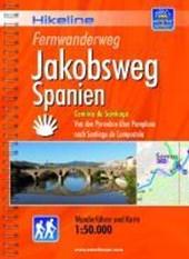 Hikeline Fernwanderweg Jakobsweg Spanien