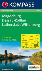 Kompass WK456 Magdeburg, Dessau, Lutherstadt, Wittenberg