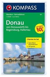 Kompass WK161 Donau, von Donauwörth bis Rgensburg