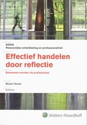 Effectief handelen door reflectie