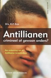 Antillianen: crimineel of gewoon anders?