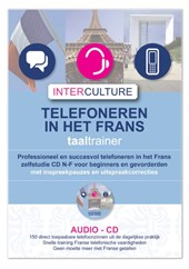 Telefoneren in het Frans taaltrainer CD