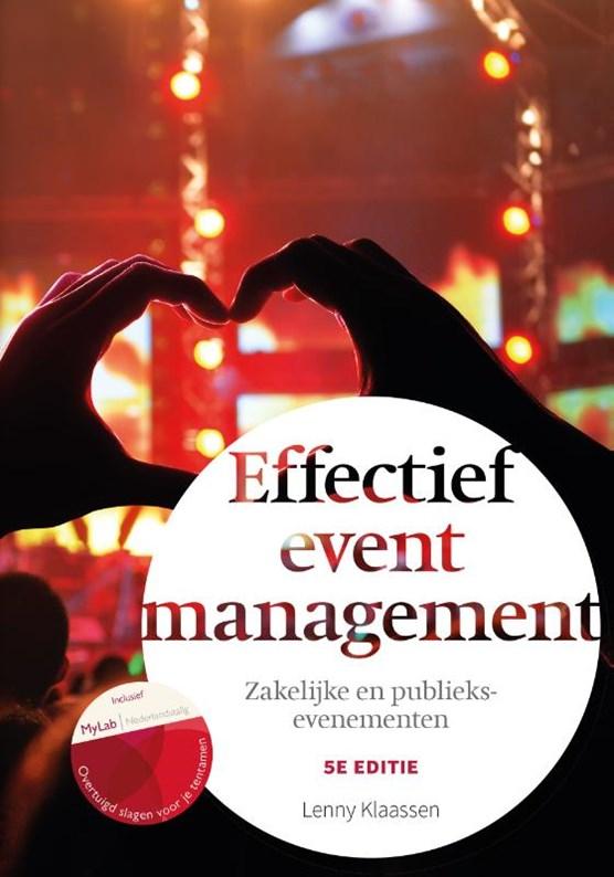 Effectief eventmanagement, 5e editie met MyLab NL toegangscode