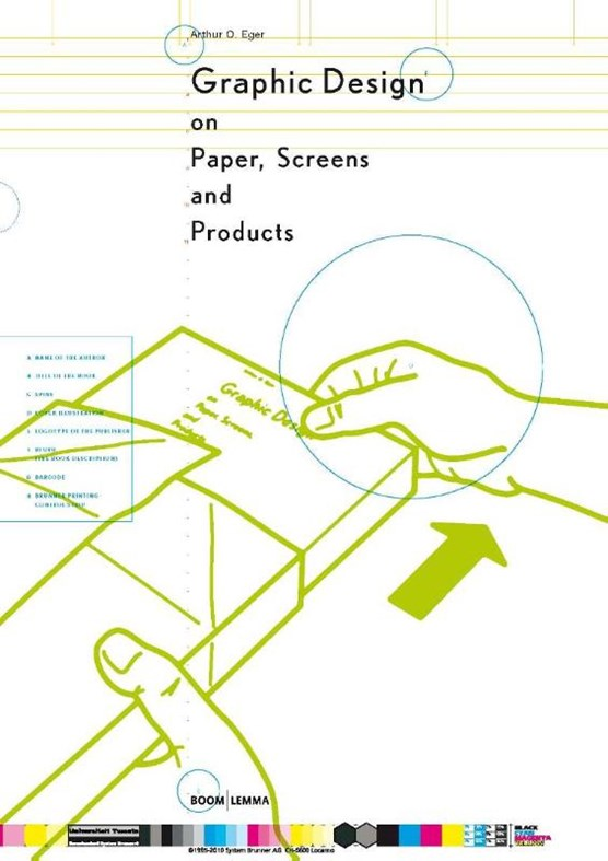 Graphic design on paper, screens and products