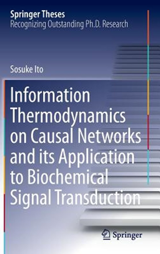 Information Thermodynamics on Causal Networks and its Application to Biochemical Signal Transduction