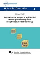 Fabrication and analysis of highly-filled ceramic-polymer composites using the spouted bed technology