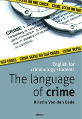 The language of crime