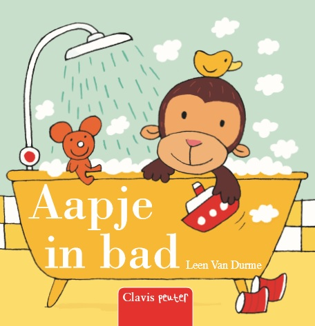 Aapje in bad | Leen Van Durme |
