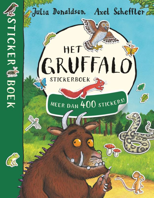 Het Gruffalo stickerboek | Julia Donaldson | 9789047709640